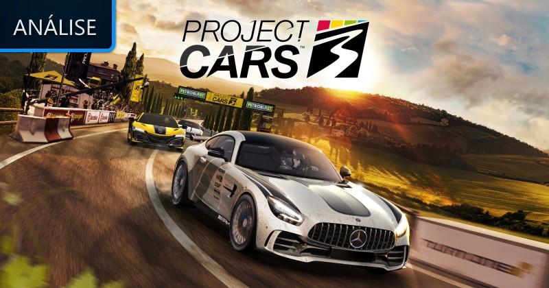 Análise: Project Cars 3 - Lenda Games