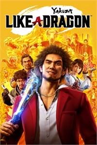 Yakuza: Like a Dragon - Capa do Jogo