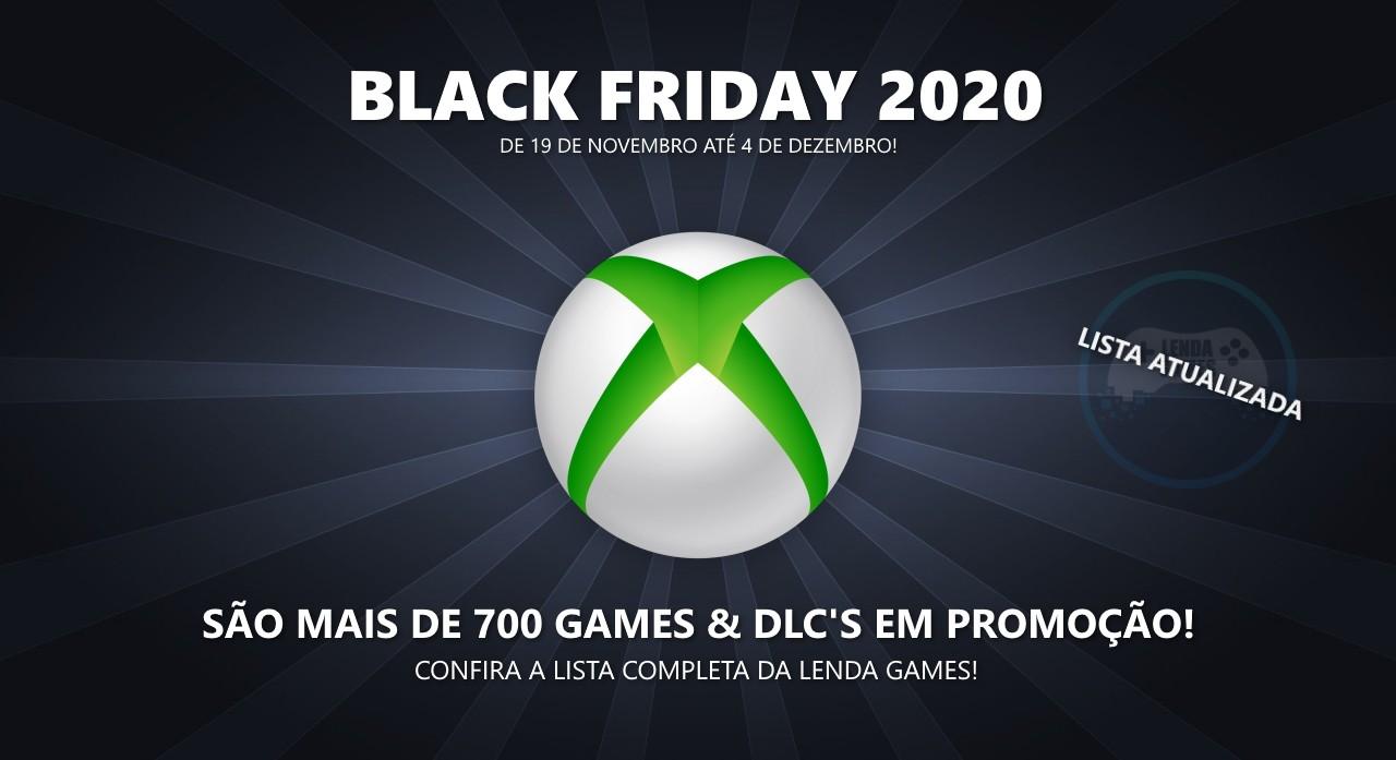 Black Friday 2020: Lista completa de ofertas para Xbox One, Series X/S e 360!