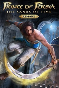 Prince of Persia: The Sands of Time - Remake - Capa do Jogo