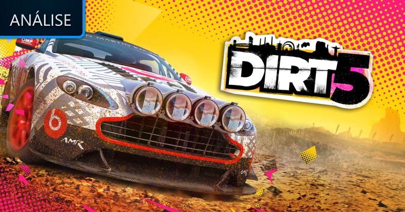 Análise: DiRT 5 - O melhor das corridas off-road! - Lenda Games