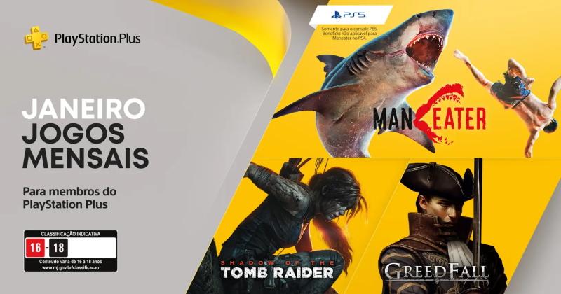 (PS Plus) PlayStation Plus: Jogos grátis em janeiro de 2021!