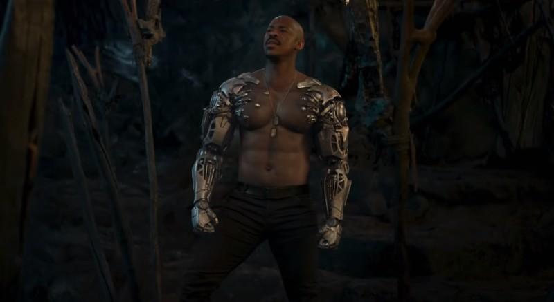 Jax Briggs no filme de Mortal Kombat! (Imagem de Reprodução)