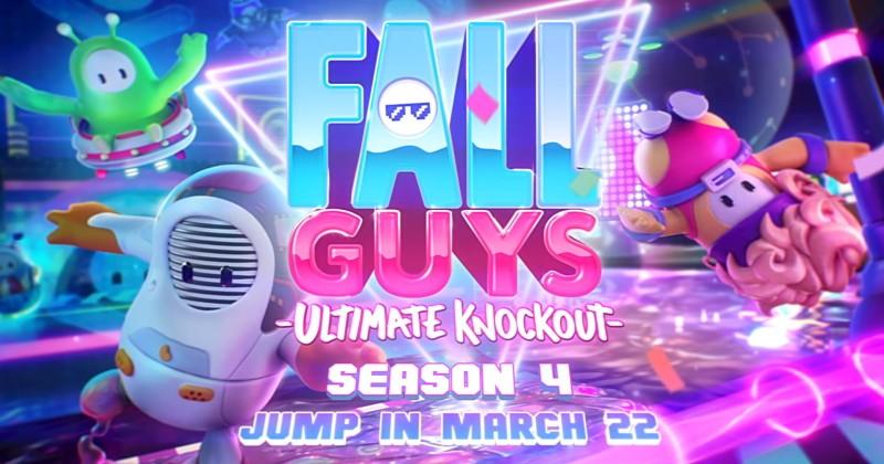 Fall Guys: Temporada 4 será lançada em 22 de março!