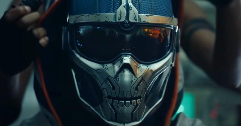 Visual do Taskmaster em Viúva Negra! (Imagem de Reprodução)