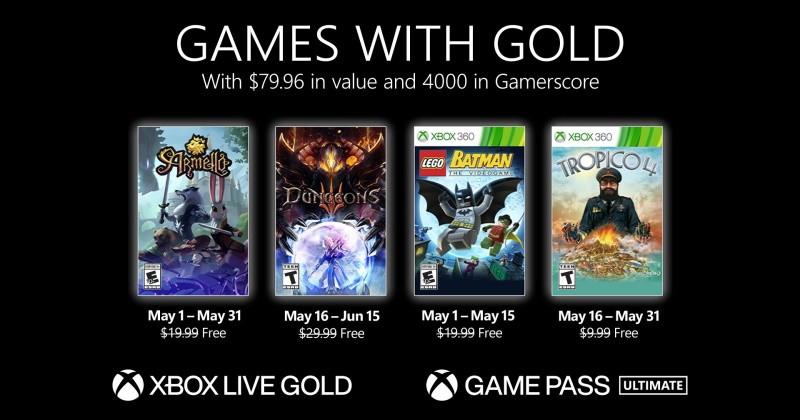 (GwG) Games with Gold: Jogos Grátis - Maio de 2021 na Xbox Live!