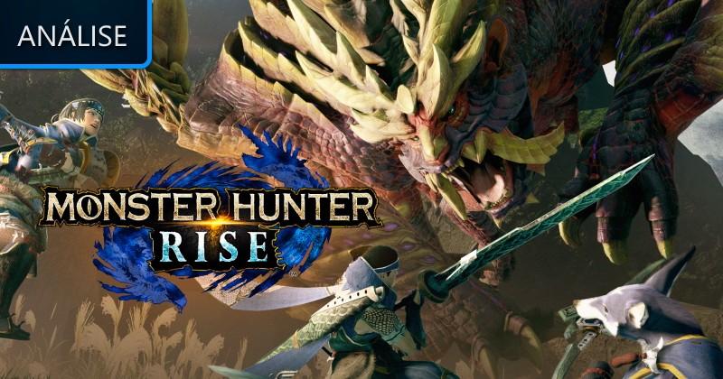 Análise: Monster Hunter Rise - Lenda Games