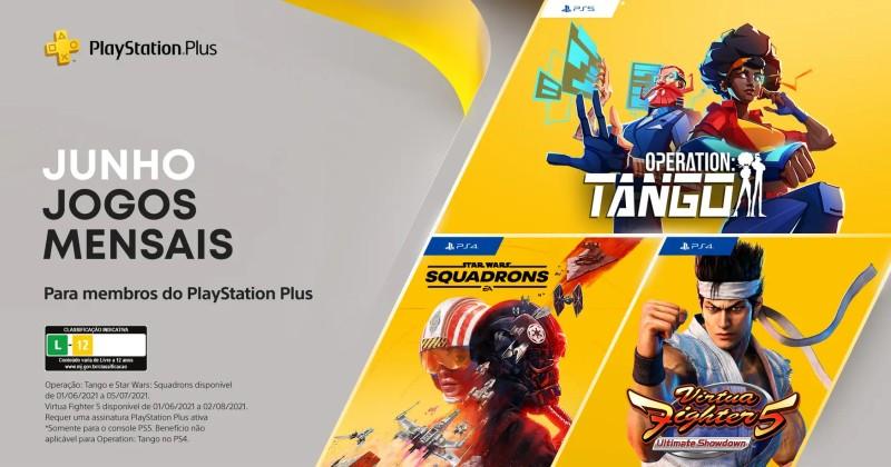 (PS Plus) PlayStation Plus: Jogos grátis em junho de 2021!