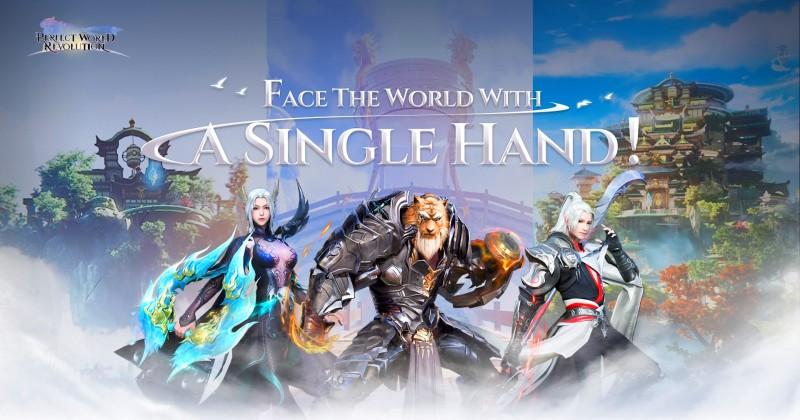 O Melhor MMORPG Vertical Perfect World: Revolution começará o pré-registro no dia 1º de Junho!