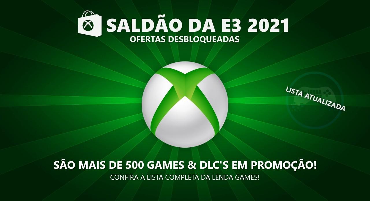 Xbox Live: Saldão ofertas desbloqueadas E3 2021 até 17 de junho!