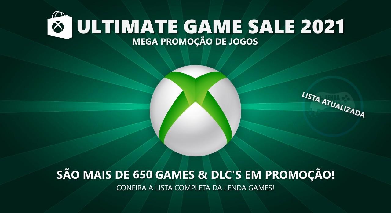 Xbox Live: Saldão Ultimate Game Sale 2021 até 5 de agosto!