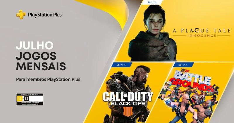 (PS Plus) PlayStation Plus: Jogos grátis em julho de 2021!