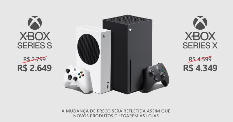 Xbox Series X/S recebeu uma nova redução de preços no Brasil!